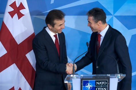 The Prime Minister of Georgia visits NATO
