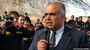 For the fourth time in 17 years, a defeated Armenian presidential candidate has openly denounced the outcome of the ballot in a presidential election as rigged and declared himself the legitimately elected president. Raffi Hovhannessian last week took his campaign to overturn the result of the 18 February Presidential election to the regions of Armenia where he was given an enthusiastic welcome.(picture courtesy of Radio Free Europe/Radio Liberty).