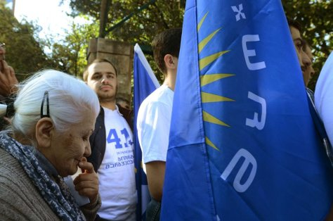 Georgians young and old are trying to make sense of an election that will bring closure to a difficult chapter in their country's modern political history
