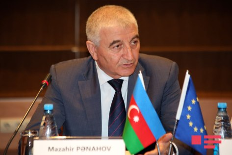 Chairman of the Azerbaijan CEC, Mazahir Panahov.